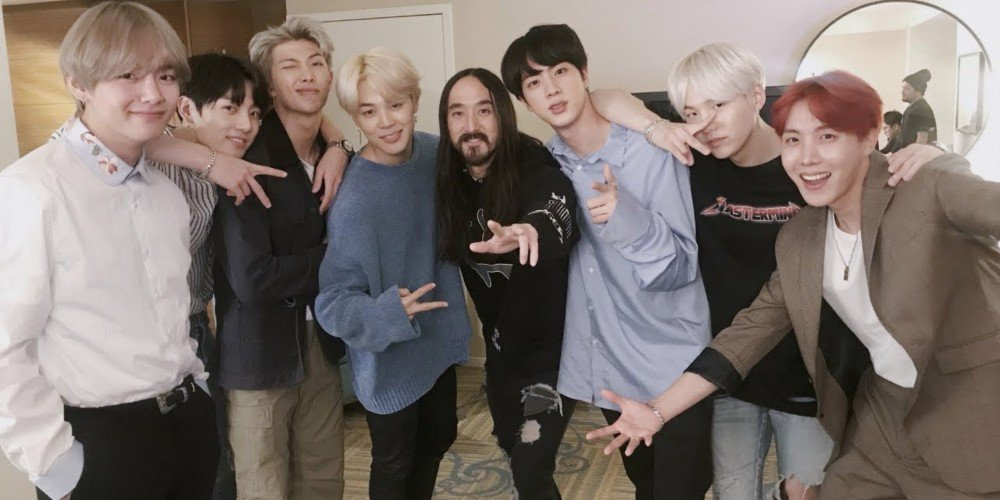 x72y bts - Steve Aoki says a remix of BTS' 'The Truth Untold' is debuting soon